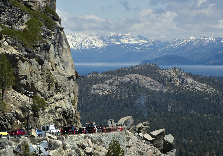 Lake Tahoe Weather Roads